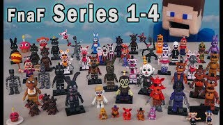 Download FNAF Mcfarlane Toys Ultimate Mini Figures Checklist All Series 1-4 Five Nights at Freddy's Mp3 and Videos