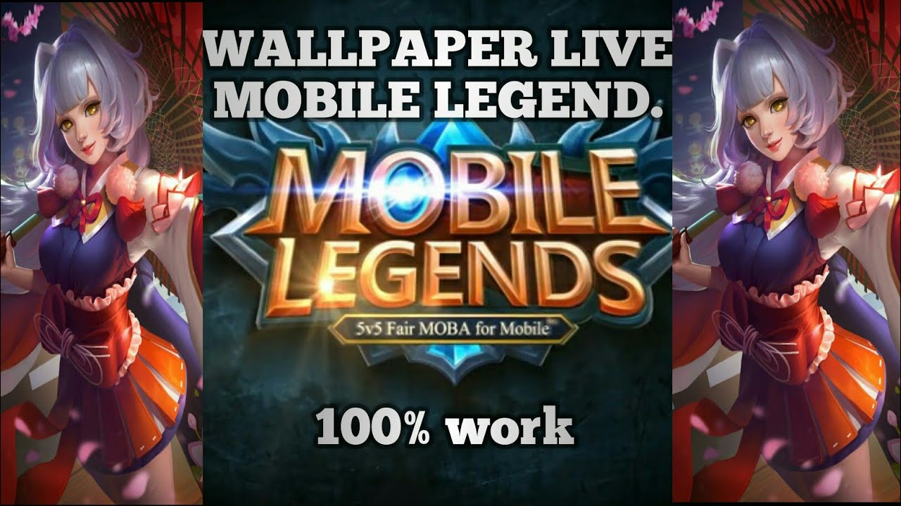 Tutorial wallpaper live. Mobile legend 100% work - YouTube