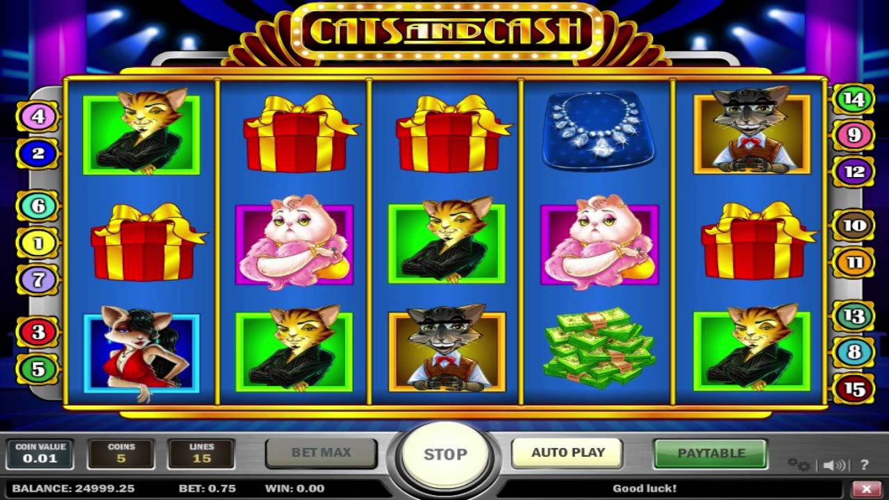 Line cats and cash playn go slot game restaurant wins horse