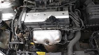 Двигатель Hyundai для Elantra 2000-2005;Accent II (+ТАГАЗ) 2000-2012