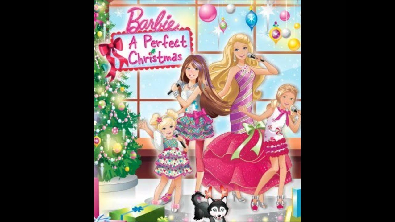 "Barbie: A Perfect Christmas Soundtrack - ""Snow Angels"" (Lyrics in ..."