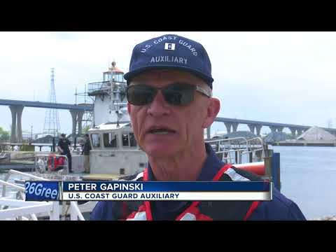 Coast Guard holds safe boating week open house