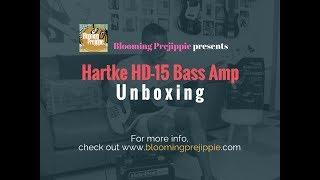 Hartke Bass Amp Unboxing