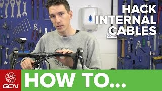 Internal Cable Routing Hacks | Road Bike Maintenance