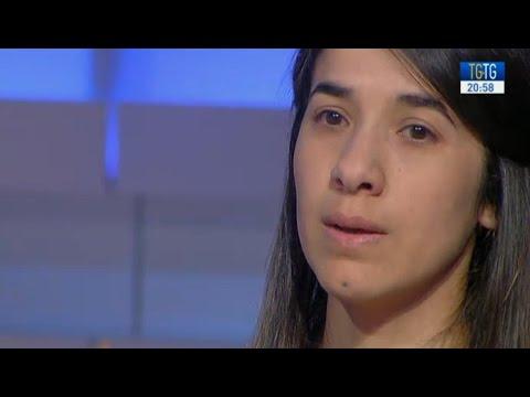 Nadia Murad, candidata al Nobel per la...