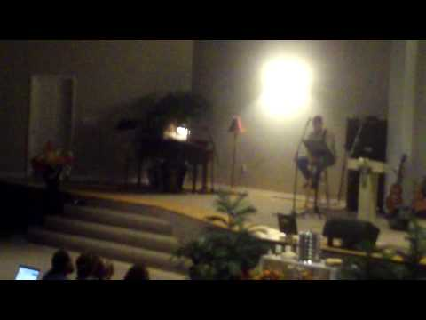 """Mindy Singing """"Peace Be Still/It Is Well"""""""