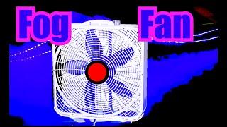 Gambar cover Fog Fan Noise = Smoke Machine + Box Fan Sounds For Sleeping 10 Hours