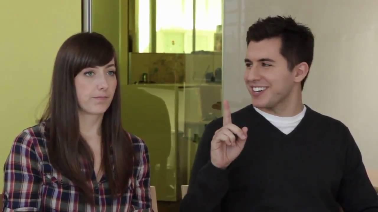 Sarah og David CollegeHumor dating Topp gratis online dating sites 2014