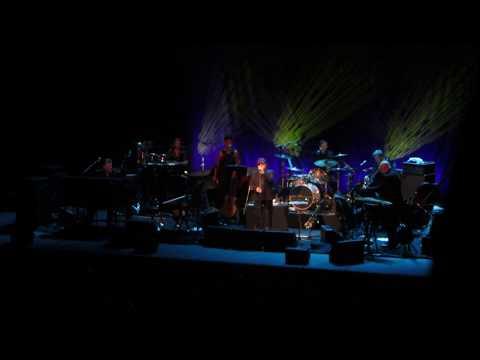 Van Morrison sings