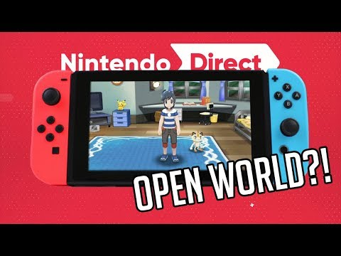 Pokémon su Switch OPEN WORLD?! Nuovo Nintendo Direct in arrivo? - PN News