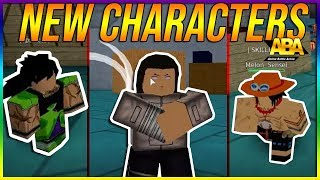 NEW CHARACTERS IN ABA BROLY, ACE AND NEJI! ANIME BATTLE ARENA UPDATE| ROBLOX