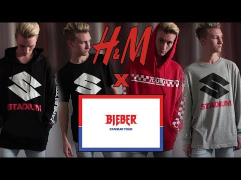 H&M X Stadium Tour Review | Justin Bieber Purpose Tour Merchandise