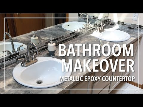 Brandon's Bathroom Epoxy Countertops (Part 2)