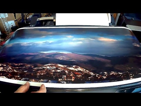 Let's Print a Panorama on the EPSON P800