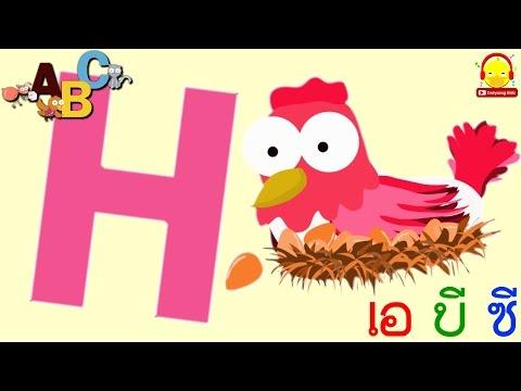 เพลง ABC Song   Alphabet phonics song   เพลงเด็กอนุบาล indysong kids