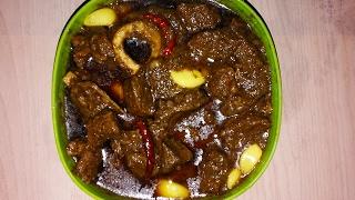 গরুর মাংস রান্না - মজাদার আচারি মাংস - Beef Curry - গরুর মাংস ভুনা - মাংসের তরকারি - Beef Bhuna