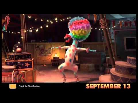 Madagascar 3 Europes Most Wanted Trailer: Cirkus afro