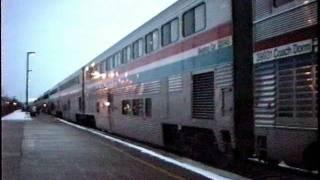 Amtrak in Naperville, IL 1989