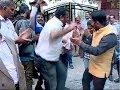 Protest in front of Kerala House Delhi by Sabarimala Karma Samithi