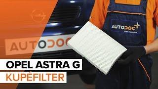 Underhåll Opel Combo C - videoinstruktioner