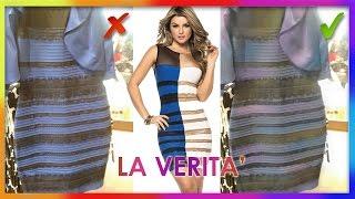 🎨Il significato dei colori: il VERO colore SCIENTIFICO del vestito bianco-oro e blu-nero #thedress
