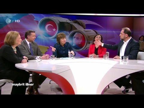 ZDF | Erdogans langer Arm – türkische Spione in Deutschland | maybrit illner