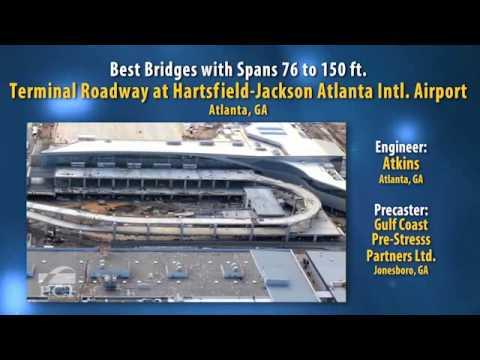 2012 Design Award Winner: Terminal Roadway at Hartsfield-Jackson Atlanta International Airport