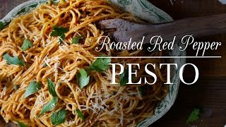 Roasted Red Pepper Pesto | Kitchen Vignettes | PBS Food