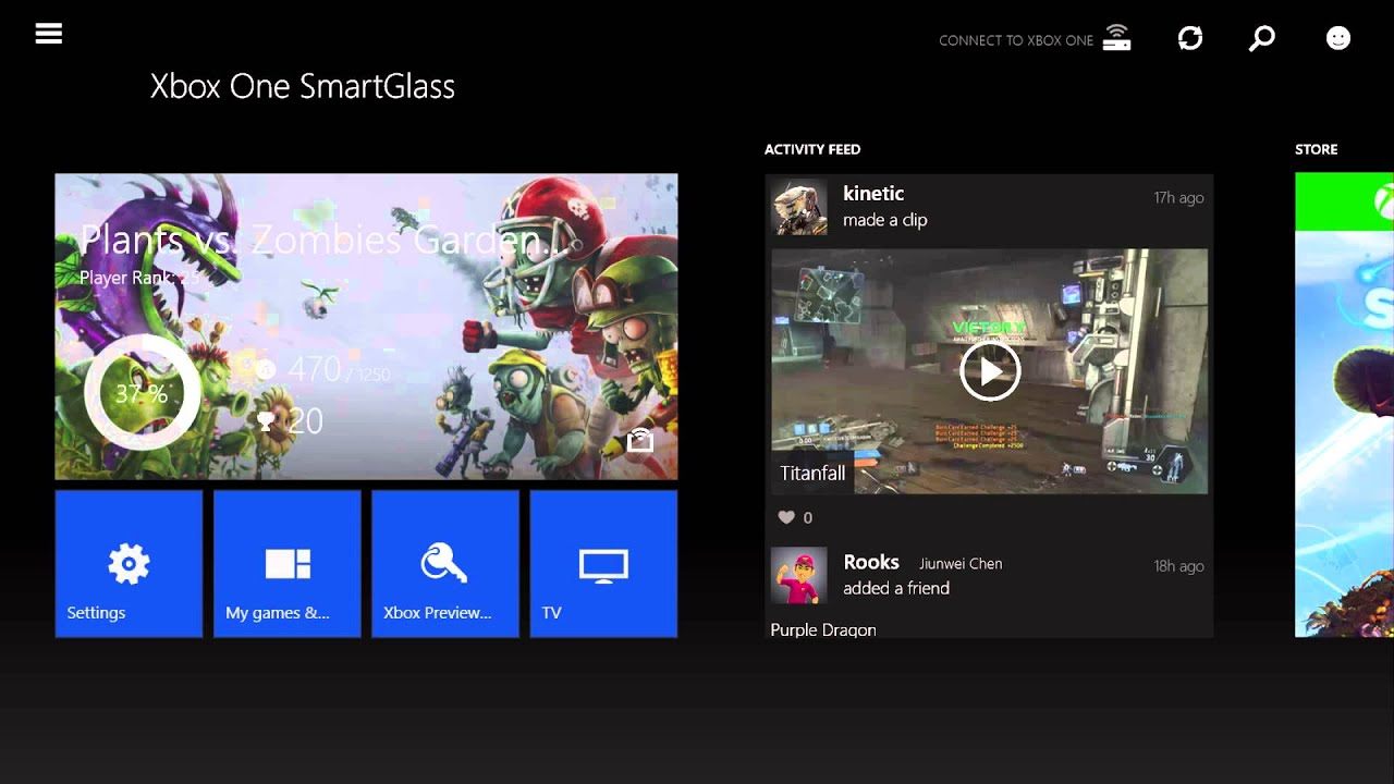 Xbox One SmartGlass now lets you install Xbox games remotely, live