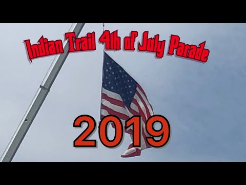 Indian Trail 4th of July  Parade 2019 in Indian Trail North Carolina