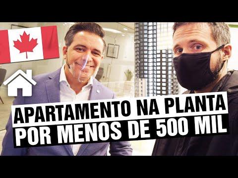 Apartamento na planta menos de 500 MIL DOLARES no CANADÁ - Como comprar imóvel na planta no Canadá?