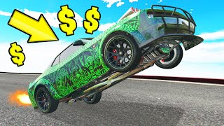 *NEW* INSANE 4,750,000 WHEELIE CAR In GTA 5! (DLC)