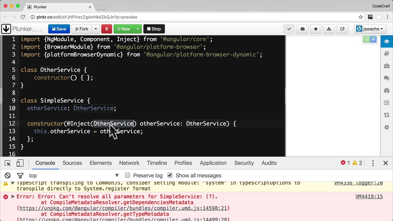Configuring Dependency Injection in Angular • Angular