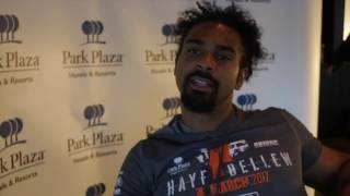 DAVID HAYE *RAW & UNCUT* - 'YOU'RE GONNA SEE ONE OF THE MOST BRUTAL DESTRUCTIVE BEATINGS EVER!!'