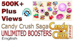 Candy Crush Saga - Top secret trick - unlimited boosters (English)