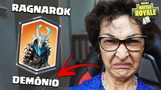MY GRANDMOTHER GUESSING THE NAME OF THE SKINS OF FORTNITE! (* Easy level *)