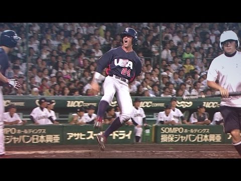 U-18 Baseball World Cup 2015 Final - Japan V USA