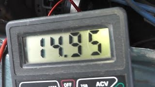Напряжение генератора 14,9 (Ваз) Как добавить напряжение?