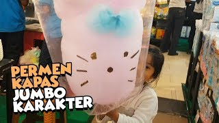 Permen Kapas Karakter Lucu - Arumanis Jumbo - big cotton candy