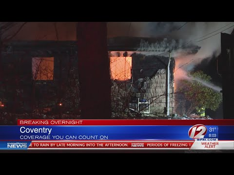 Coventry house fire