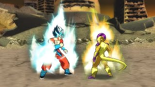 Dragon Ball Z Shin Budokai 2 / Goku Ssj God 2 Vs Freezer Gold
