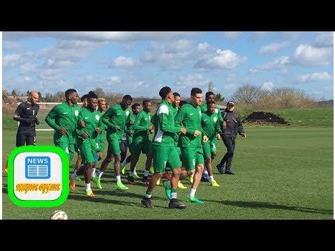 Nigeria vs argentina: super eagles arrive russia ahead of ...