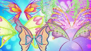 Winx Club: all transformation wings (Magic Winx-Onyrix)