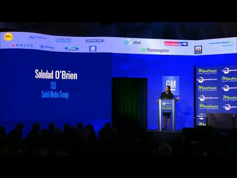 Mackinac Moment – Soledad O'Brien   2016 Mackinac Policy Conference