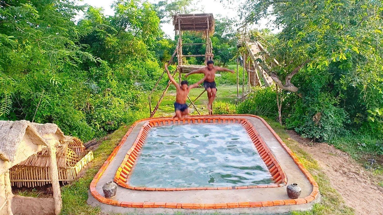 Build Swimming Pool Underground( Part 3)
