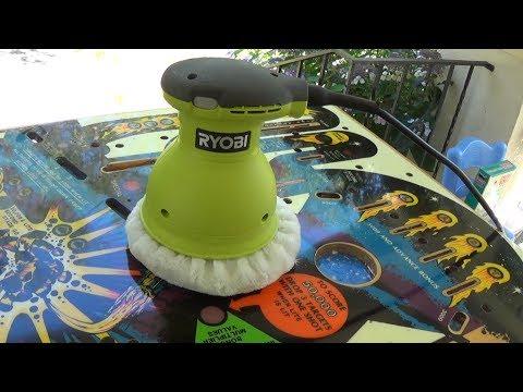 ryobi orbital buffer. ryobi 6 inch orbital buffer/polisher (model no. rb61g) buffer