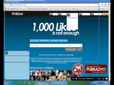 Facebook Sayfa Beğendirme - %100 Gerçek