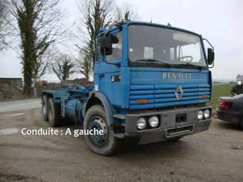 camion benne ampliroll renault g300 26 maxter youtube. Black Bedroom Furniture Sets. Home Design Ideas