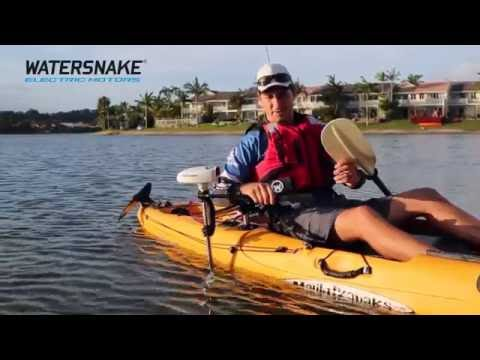 Watersnake Universal Electric Motor Mount for Kayaks and Canoes