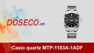 [Góc Review nhanh] #587: Đồng hồ Casio quartz MTP-1183A-1ADF